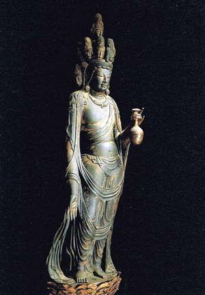 仏像シリーズ4月期は湖北の仏像と釈迦の図像のイメージ