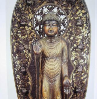 日本の仏像シリーズ7月期は釈迦の図像と長野・牛伏寺の諸像のイメージ