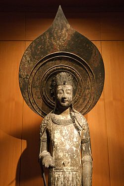 日本の仏像シリーズ1月期は「対比でみる法隆寺の仏像」のイメージ